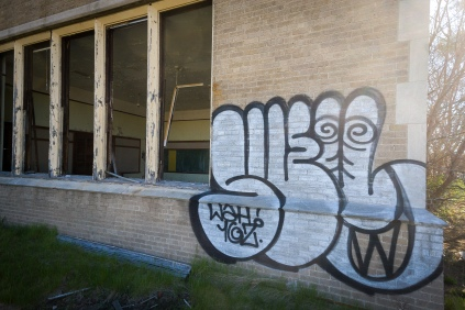 School exterior.